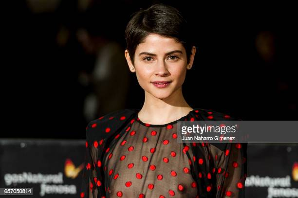 Alba Galocha attends the 'Plan de Fuga' premiere on day 5 of the 20th Malaga Film Festival at the Cervantes Teather on March 23 2017 in Malaga Spain