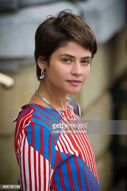 Alba Galocha is seen arriving at 64th San Sebastian Film Festival on September 16 2016 in San Sebastian Spain