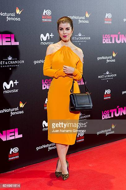 Alba Messa attends 'Los Del Tunel' premiere during the Madrid Premiere Week at Callao Cinema on November 21 2016 in Madrid Spain