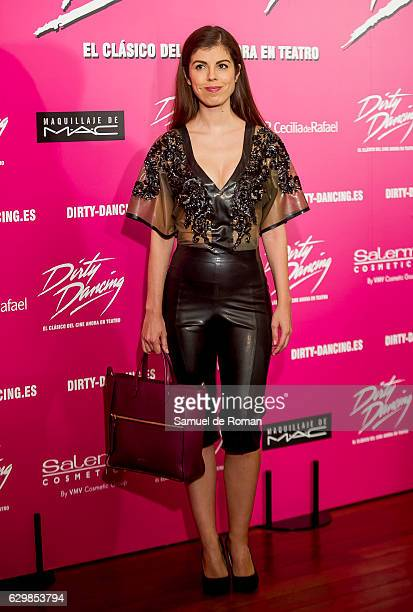 Alba Messa attends to 'Dirty Dancing' Madrid Premiere on December 14 2016 in Madrid Spain