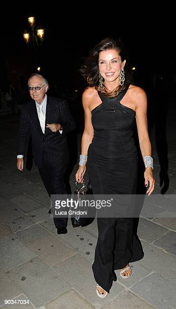Alba Parietti attends the 'Bad Lieutenant Port Of Call New Orleans' Party during the 66th Venice Film Festival on September 4 2009 in Venice Italy