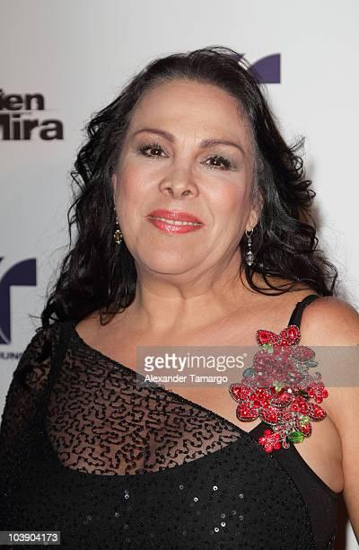 Alba Raquel Barros attends screening of Telemundo's 'Alguien Te Mira' at The Biltmore Hotel on September 7 2010 in Coral Gables Florida