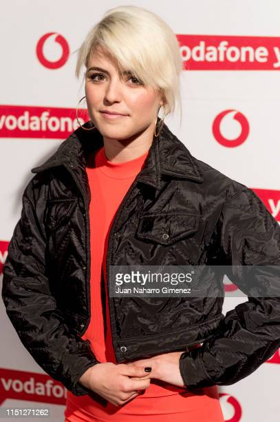Alba Reche attends Dellafuente photocall during Vodafone Yu Music Shows on May 23 2019 in Madrid Spain