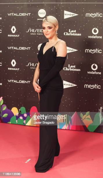 Alba Reche attends 'Los40 music awards 2019' photocall at Wizink Center on November 08 2019 in Madrid Spain