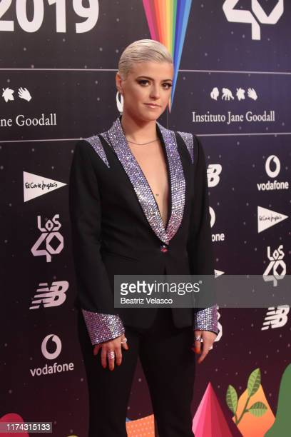 Alba Reche attends the 40 Principales Awards nominated dinner at Florida Retiro on September 12 2019 in Madrid Spain