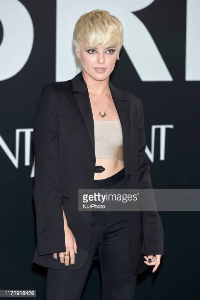 Alba Reche attends the Yves Saint Laurent 'Libre' fragrance presentation at Real Fabrica de Tapicez in Madrid Spain on Sep 30 2019