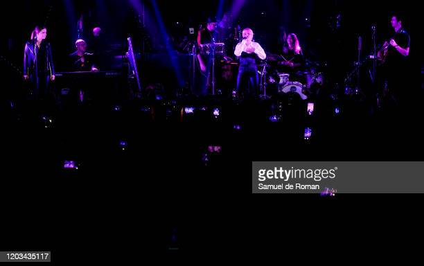 Alba Reche performs on stage at Sala Mod in Madrid on February 01 2020 in Madrid Spain