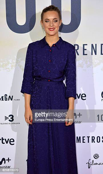 Alba Ribas attends '100 Metros' premiere at Capitol cinema on November 2 2016 in Madrid Spain