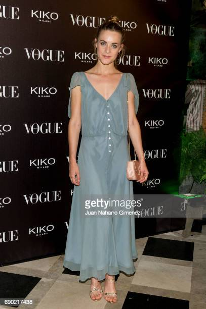 Alba Ribas attends 'Kiko Milano Anniversary' photocall at La Habanera on May 30 2017 in Madrid Spain