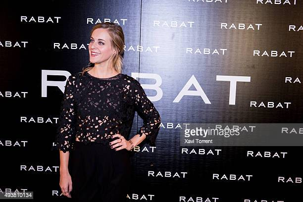 Alba Ribas attends Rabat Boutique Inauguration on October 22 2015 in Barcelona Spain