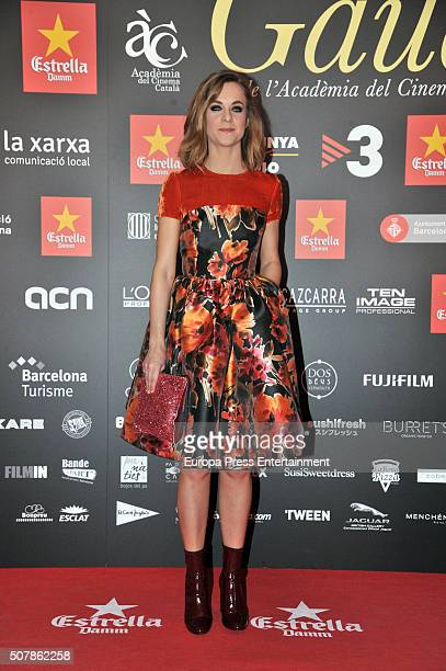 Alba Ribas attends the Gaudi Awards 2016 at the Forum Auditorium on January 31 2016 in Barcelona Spain
