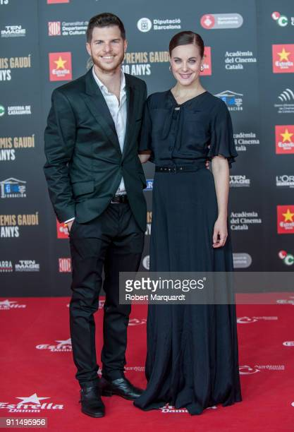 Alba Ribas attends the Gaudi Awards 2018 at the Forum CCIB Auditori on January 28 2018 in Barcelona Spain