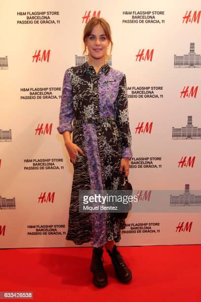 Alba Ribas attends the HM Flagship Store Opening at Passeig de Grcia 11 in Barcelona on February 1 2017 in Barcelona Spain