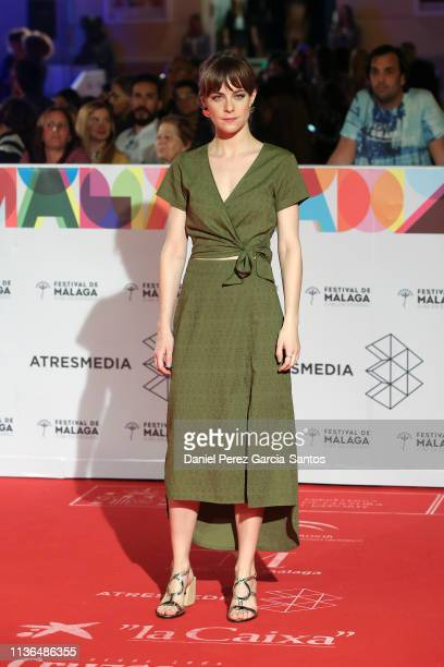 Alba Ribas attends the 'Malaga' award 2019 during the 22th Malaga Film Festival at the Cervantes Theater on March 17 2019 in Malaga Spain