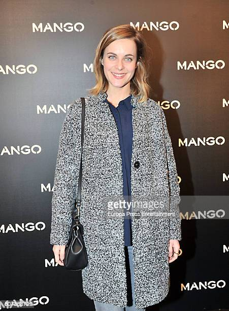 Alba Ribas attends 'Tribal Spirit' by Mango on January 28 2016 in Barcelona Spain