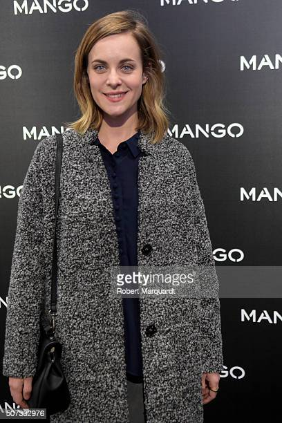 Alba Ribas poses during a photocall for 'Tribal Spirit' by Mango on January 28 2016 in Barcelona Spain