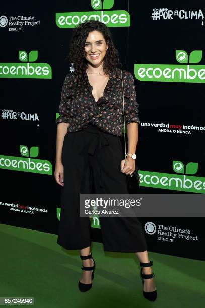 Alba Rico attends 'An Inconvenient Sequel Truth to Power' premiere at the Callao cinema on October 3 2017 in Madrid Spain