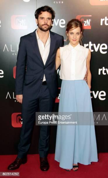Alba Rivas and Jon Arias attend 'Corazon' TV Programme 20th Anniversary at Alma club on June 27 2017 in Madrid Spain