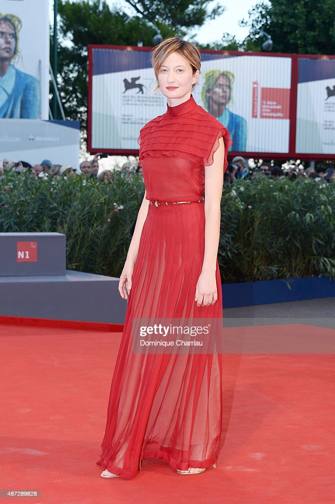 Alba Rohrwacher attends a premiere for 'Blood Of My Blood' during the 72nd Venice Film Festival at on September 8, 2015 in Venice, Italy.