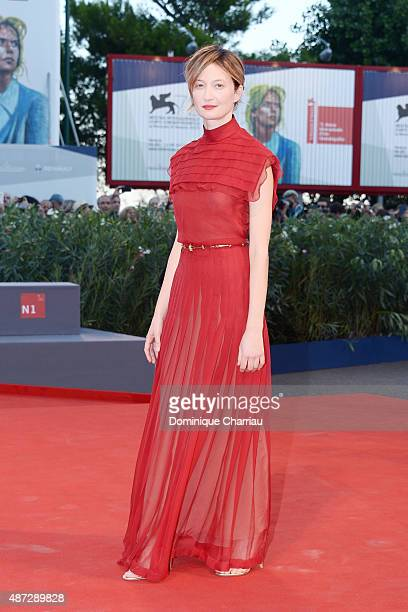 Alba Rohrwacher attends a premiere for 'Blood Of My Blood' during the 72nd Venice Film Festival at on September 8 2015 in Venice Italy