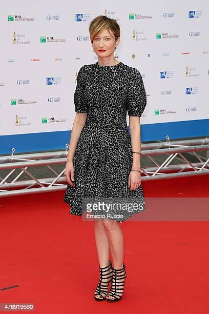 Alba Rohrwacher attends the '2015 David Di Donatello' Awards Ceremony at Teatro Olimpico on June 12 2015 in Rome Italy