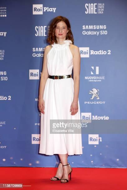Alba Rohrwacher attends the 64 David Di Donatello awards on March 27 2019 in Rome Italy