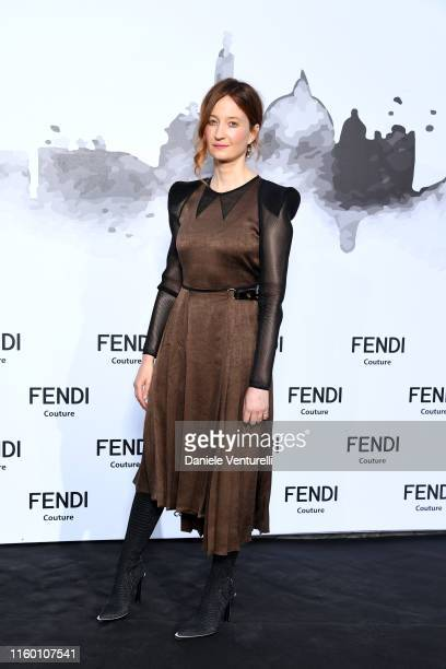 Alba Rohrwacher attends the Cocktail at Fendi Couture Fall Winter 2019/2020 on July 04 2019 in Rome Italy