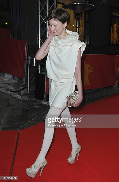 Alba Rohrwacher attends the 'Cosa Voglio Di Piu' Premiere during day five of the 60th Berlin International Film Festival at the Friedrichstadtpalast...