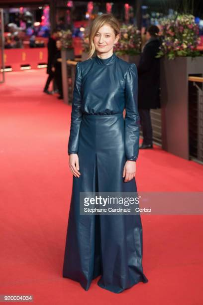 Alba Rohrwacher attends the 'Daughter of Mine' premiere during the 68th Berlinale International Film Festival Berlin at Berlinale Palast on February...