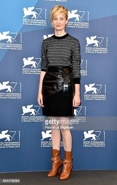 Alba Rohrwacher attends the 'Hungry Hearts' photocall during the 71st Venice Film Festival on August 31 2014 in Venice Italy