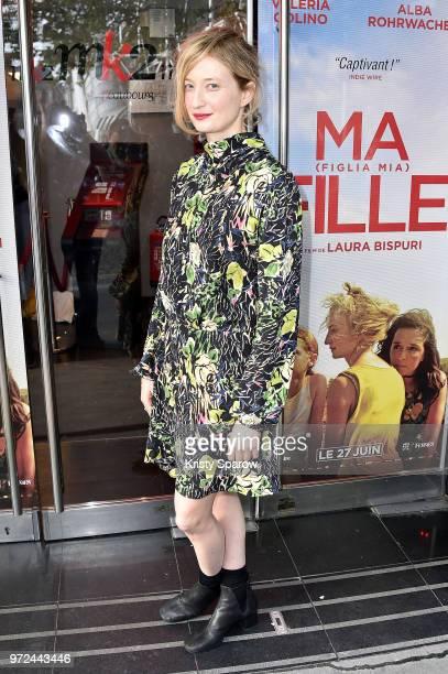 Alba Rohrwacher attends the Ma Fille Mia Figlia Paris Premiere at Mk2 Bibliotheque on June 12 2018 in Paris France