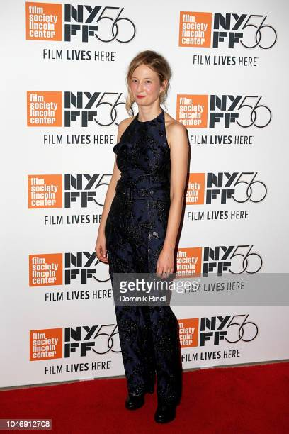 Alba Rohrwacher during the 56th New York Film Festival Happy As Lazzaro at Alice Tully Hall Lincoln Center on October 6 2018 in New York City