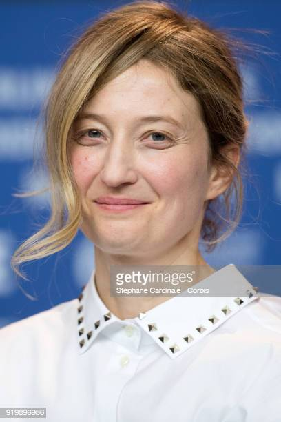 Alba Rohrwacher is seen at the 'Daughter of Mine' press conference during the 68th Berlinale International Film Festival Berlin at Grand Hyatt Hotel...