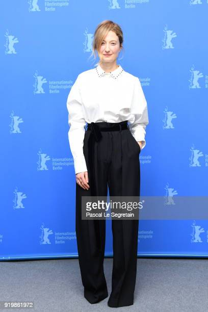 Alba Rohrwacher poses at the 'Daughter of Mine' photo call during the 68th Berlinale International Film Festival Berlin at Grand Hyatt Hotel on...