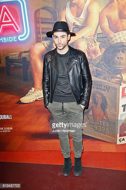 Alban Bartoli attends 'Pattaya' Paris Premiere at Cinema Gaumont Opera on February 15 2016 in Paris France
