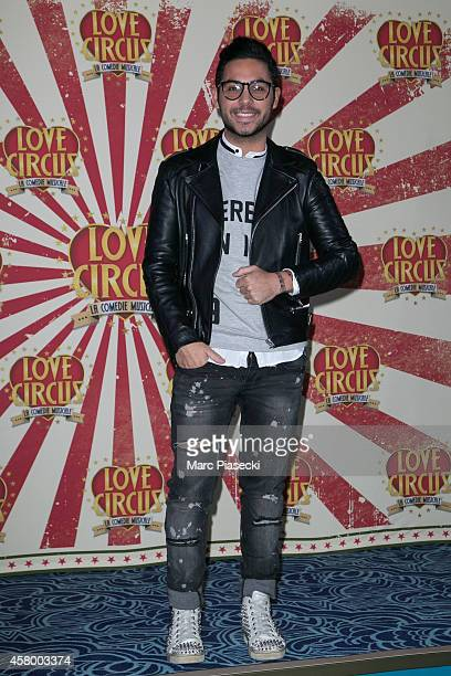 Alban Bartoli attends the 'Love Circus The Musical' at Folies Bergeres on October 28 2014 in Paris France