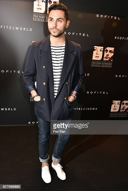Alban Bartoli attends the Romy Schneider Patrick Dewaere Award Ceremony at Hotel Scribe on May 2 2016 in Paris France