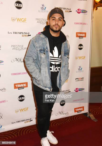 Alban Bartoli poses at the Photocall of ' Les Tremplins Act1 Live ' Auction Show at Rex Club on September 20 2017 in Paris France