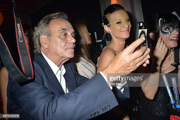 Alban Ceray attends the Marc Dorcel 35th Anniversary Masked Ball at the Chalet des Iles on October 10 2014 in Paris France