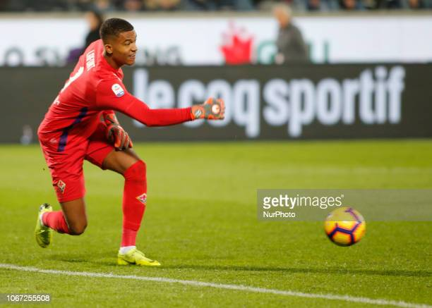Alban Lafont during Serie A match between Fiorentina v Juventus in Firenze on December 1 2018