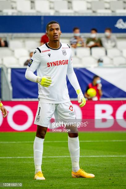 Alban LAFONT of FC Nantes during the Ligue 1 match between Bordeaux and Nantes on August 21, 2020 in Bordeaux, France.