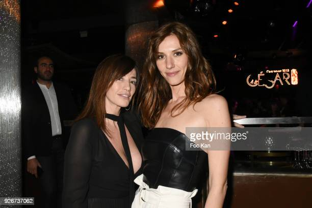 Albane Cleret and Doria Tillier attend at the Cesar Film Awards 2018 After Party at Le Queen on March 2 2018 in Paris France
