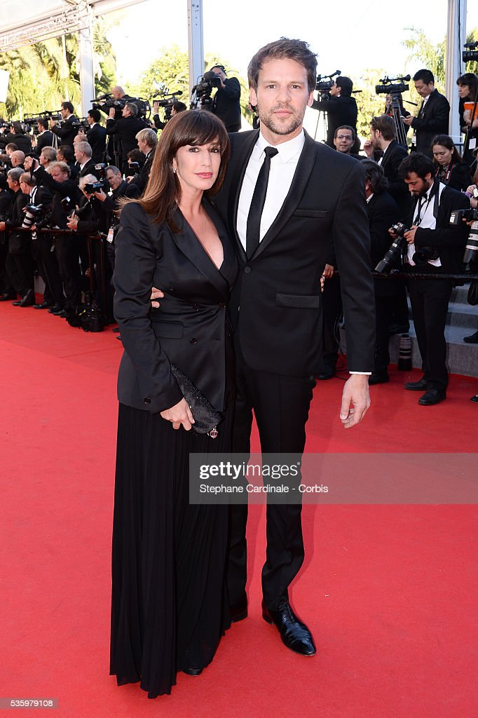 Albane Cleret and guest at the Closing ceremony and 'A Fistful of Dollars' screening during 67th Cannes Film Festival