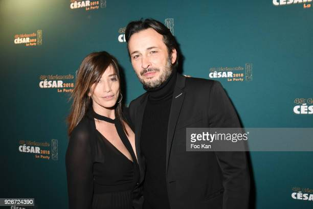 Albane Cleret and Michael Cohen attend at the Cesar Film Awards 2018 After Party at Le Queen on March 2 2018 in Paris France