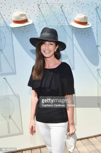 Albane Cleret attends the 2017 French Tennis Open Day Five at Roland Garros on June 1 2017 in Paris France
