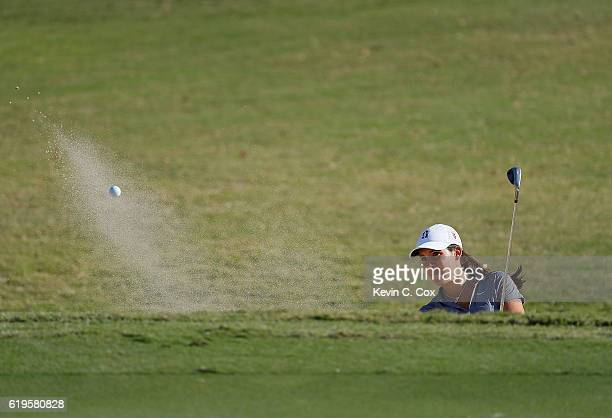 Albane Valenzuela of Stanford hits a shot on the 17th hole during day 1 of the 2016 East Lake Cup at East Lake Golf Club on October 31 2016 in...