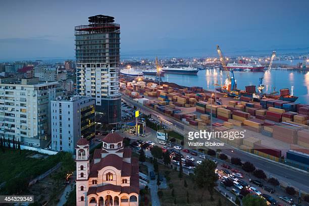 albania, durres - durazzo foto e immagini stock