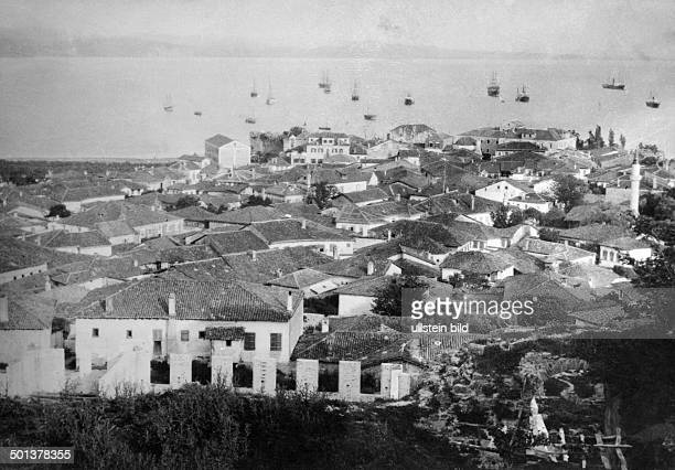 Albania Durres the harbour undated after 1920 Photographer Haeckel