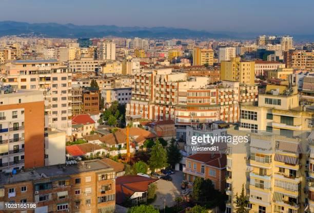 albania, tirana, city center - tirana stockfoto's en -beelden