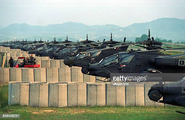 Albania, Tirana - The american Forces used the international albanian airport as airbase for humanitarian Aid and reconnaissance flights. - But the...